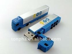 256MB,512MB,1GB,2GB,4GB,8GB,16GB,32GB truck shape usb promotional item