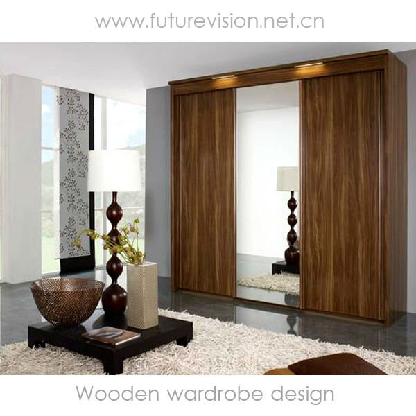 Modern Wooden Wardrobe Designs For Bedroom - Home Design and ...
