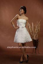 (L1) Guangzhou Stephanie Short Feather Wedding Dresses