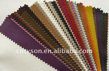 No-woven backing pu artificial lining fabric