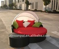 alfresco chaise lounge rodada