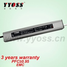 450ma/34w waterproof led driver ip67 with PFC(0.98), EMC (3 years warranty)