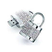 key shape diamond jewelry usb thumb gifts usb flash drive/pendrive/stick/flash memory
