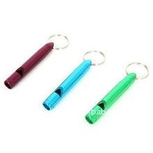 fashion alarm whistle key finder keychain toy survival whistle