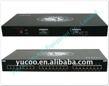 16 Ports VGA Audio UTP Cat5 Extender