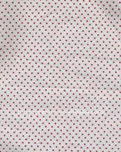 cotton printed poplin Dot printing