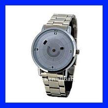 vogue fashion watch mens watches wrist watch of Steel Disc strap