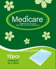 2012 super absorbent soft disposable medical pad- RB9313