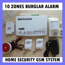 Office CCTV Alert Wireless sms burglar alarm Home security dual band GSM Alarm