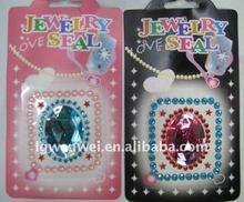 Fashion newest self-adhesive gems