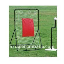 Metal tennis rebounder net