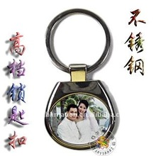 HOT 2012 New Year sublimation key chain