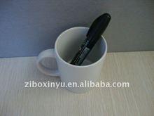 11OZ white mug with pen for promotion