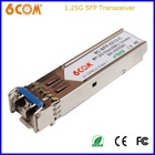 Gigabit Ethernet 1.25Gbps 1310nm 10km sfp optical modules
