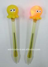Light Up Cute Octopus Ball Pen