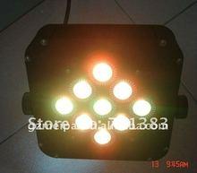 9*3in1 flat panel par led