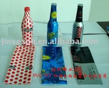 Heat shrink liquor bottle label