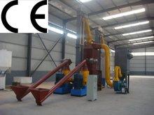 CE Approved SKJ550 Biomass Wood pellet making machine line