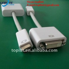Mini DVI to DVI Adapter Cable for Apple iMac (Intel Core Duo), MacBook, and 12-inch PowerBook G4