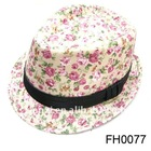 2012 beautiful ladies promotion gift hats