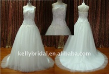 Nice Tulle Style for 2012 New wedding gown designer