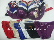 0.9USD 2012 Colourful Big Cup Size Ladies Cute Bra Set(kctz005)