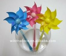 Wind-up pinwheell ball Pen