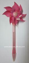 Red Wind-up pinwheell Pen