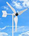 Piccolo/mini trifase ac permanente/dc 12/24v orizzontale/verticale 50w 100w 150w 250w turbina eolica/generatore di potenza