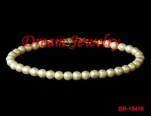 fashion artificial pearl bracelet
