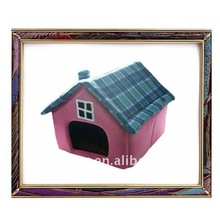 2012 new design and cheap polar fleece pet house for dog and cat ,animal house