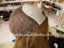 Half Hand Made human hair Jewish wig/Kosher wig