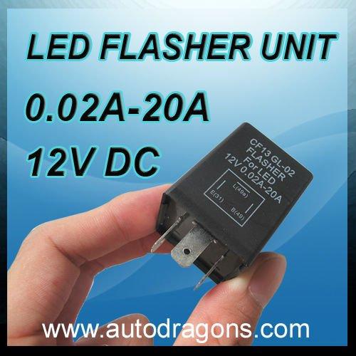 hige quality led light flasher unit cf13gl02 12v. Black Bedroom Furniture Sets. Home Design Ideas
