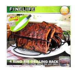 4 Ring Rib Grilling Rack
