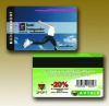 Factory PVC card with magnetic stripe