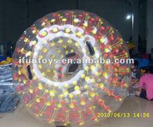 Colored dot zorb roller ball/zorbing ball