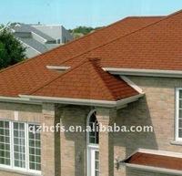 3-tab asphalt shingles roof coated