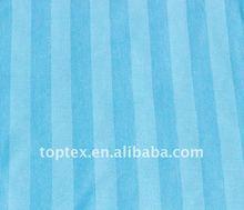 100% cotton sateen stripe fabric for bedding set