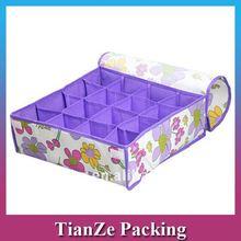 2012 fashion non woven foldable storage box