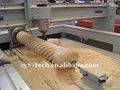 Florero, Plana cnc madera máquina de grabado
