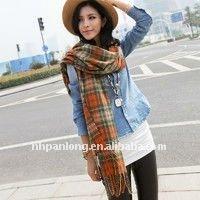 fashion and popular scarf&spring polyester scarf&viscose scarf rayon shawl