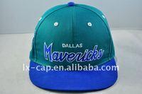 Plastic Buckle Flat Brim hat