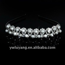 Costume Jewelery Pearl Bridal Hair Bands