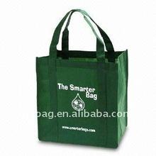 2012 hot sell dark green 80gsm non woven bag