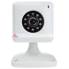 Cost-effective CCTV Wired CMOS IP Network Video Camera With Night Vision