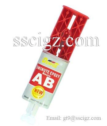 Clear Epoxy Syringe glue AB glue