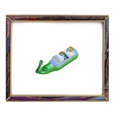 Uw-pd-001300ml portátil não - tóxico verde pet bebedouro para animais de pequeno porte, bebedor cão, bebedor gato