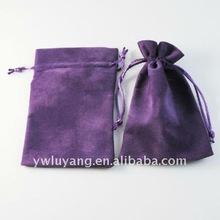 Drawstring Velvet Souvenir Bag For Promo Gifts Bags