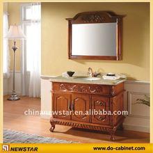2012 old wooden vanity cabinet(NSBS-8803)