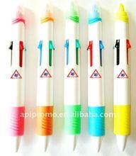 Four color promotional plastic pen